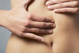 large left ovarian cyst