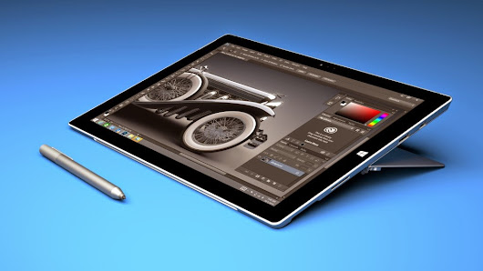 Animation Pitstop: Adobe and Microsoft team up to make Photoshop better for touchscreens & other softwares will follow