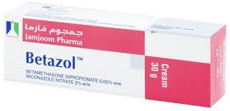 سعر ودواعي إستعمال بيتازول ج Betazol G كريم لعلاج الألتهابات والفطريات