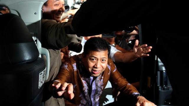 Setya Novanto Dilarikan ke Klinik Usai Ditetapkan Sebagai Tersangka Lagi