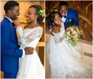 Lovely Photos From Actor, Seun Ajayi's Wedding Ceremony