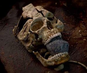 makan dan kuburan vampire di temukan di Kilteasheen Irlandia