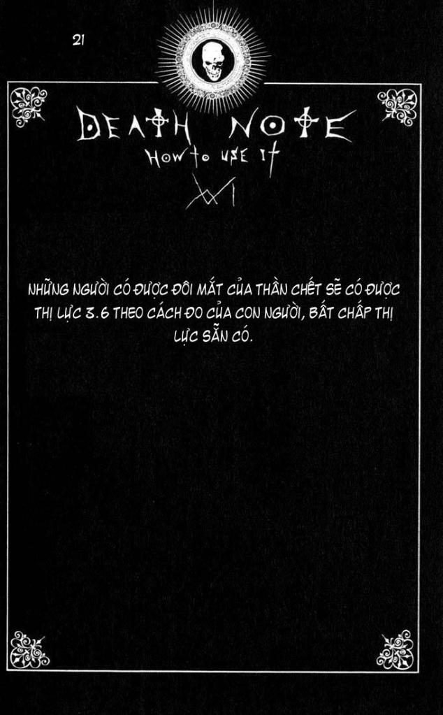 Death Note chapter 110 - how to use trang 24