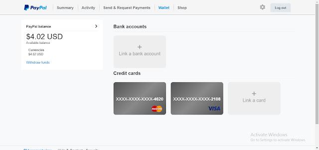 شرح كيفية تفعيل حساب الباى بال بالبطاقة الإفتراضيه من موقع E-Coin تفعيلاً كاملاً وسحب الأموال عليها.