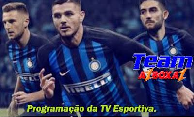 Programação da TV Esportiva ''Segunda'' 13/05/19