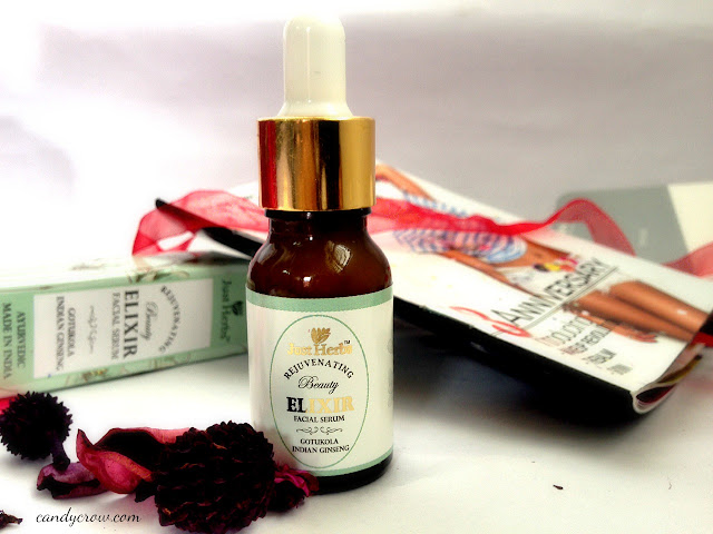 Just Herbs Gotukola Indian Ginseng Rejuvenating Beauty Elixir review