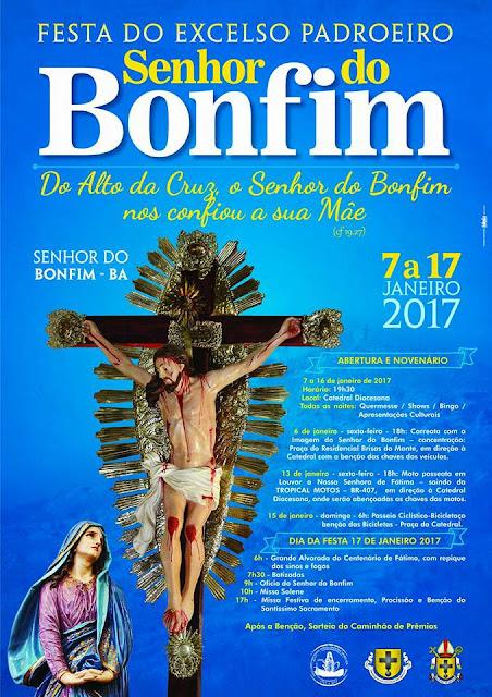 FESTA DO PADROEIRO SENHOR DO BONFIM