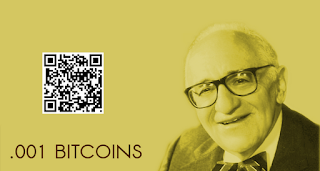 simplest possible bitcoin bank note