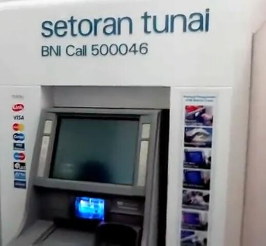 Cara Setor Tunai BNI Melalui Mesin ATM