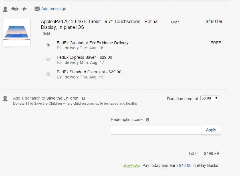 Ebay For Ios 9