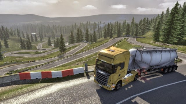 Scania Truck Driving Simulator PC Games Gameplay