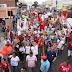 Eleições 2018: com otimismo para virada, militantes foram às ruas pró Fernando Haddad em Vitória da Conquista