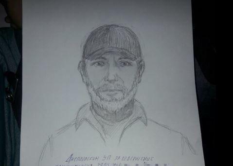 Поліція опублікувала фоторобот підозрюваного у вбивстві Бабченка