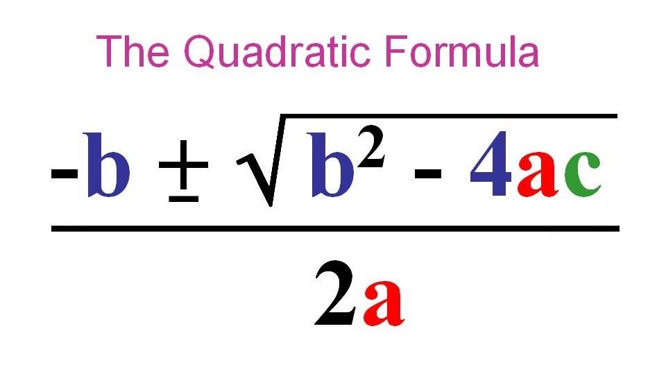 意外な数学英語 unexpected math english quadratic formula song