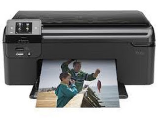 Picture HP Photosmart B110a Printer