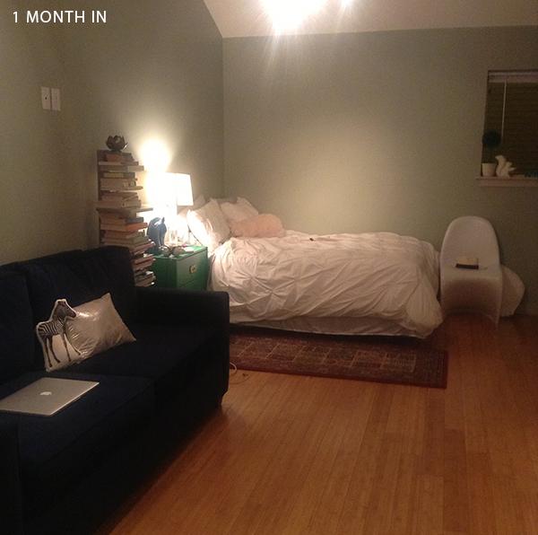 One Room Living The Studio Apartment: MY STUDIO APARTMENT:: The Living Room