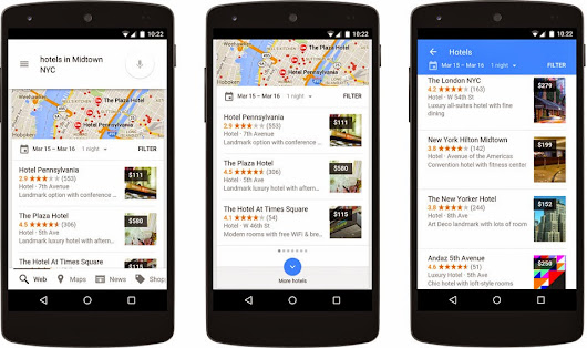Building a better hotel search experience for travelers and hoteliers on Google
