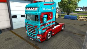 Skin Pack by speedy143 for Scania RJL