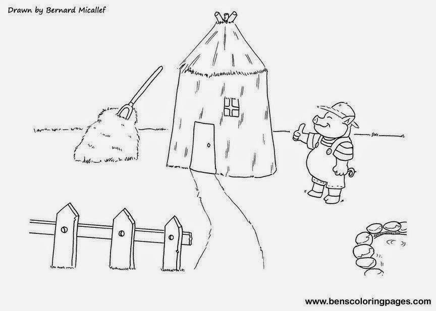 Cuentos Infantiles Dibujos Para Colorear A Los Tres