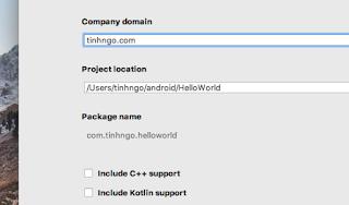 Hướng dẫn cài đặt Android Studio trên MAC OS