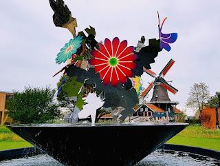 Brunnen der Elfstädtetour, NL-Friesland