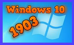 Windows 10 actualización 1903