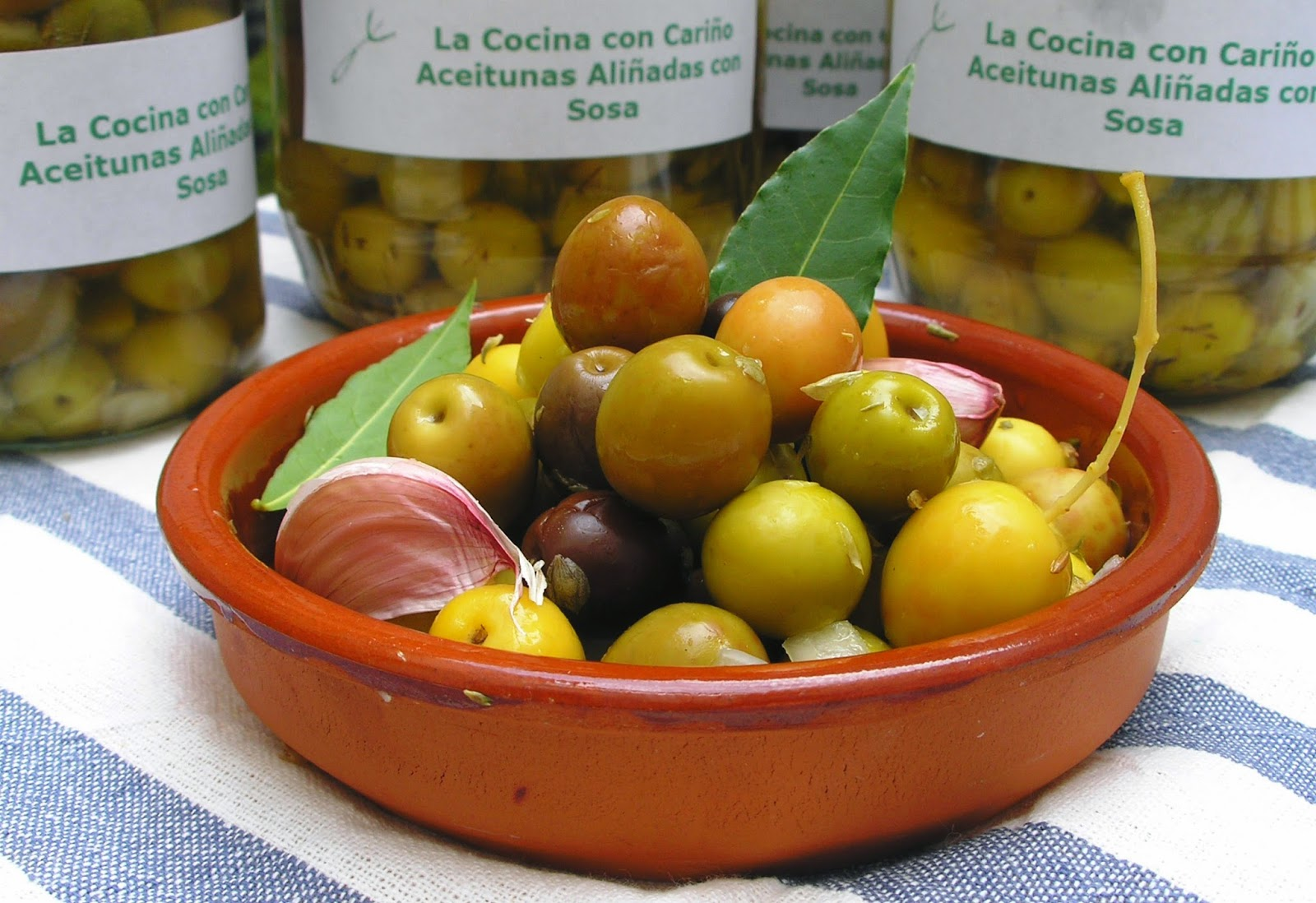como curar aceitunas verdes con sosa caustica