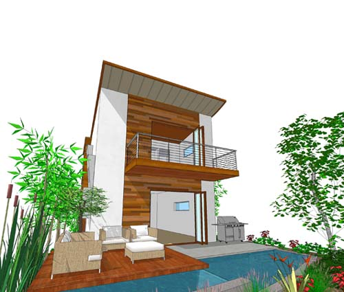 Modern House Designs 3 Bedroom: Level 3-storey Contemporary House And 3-bedroom