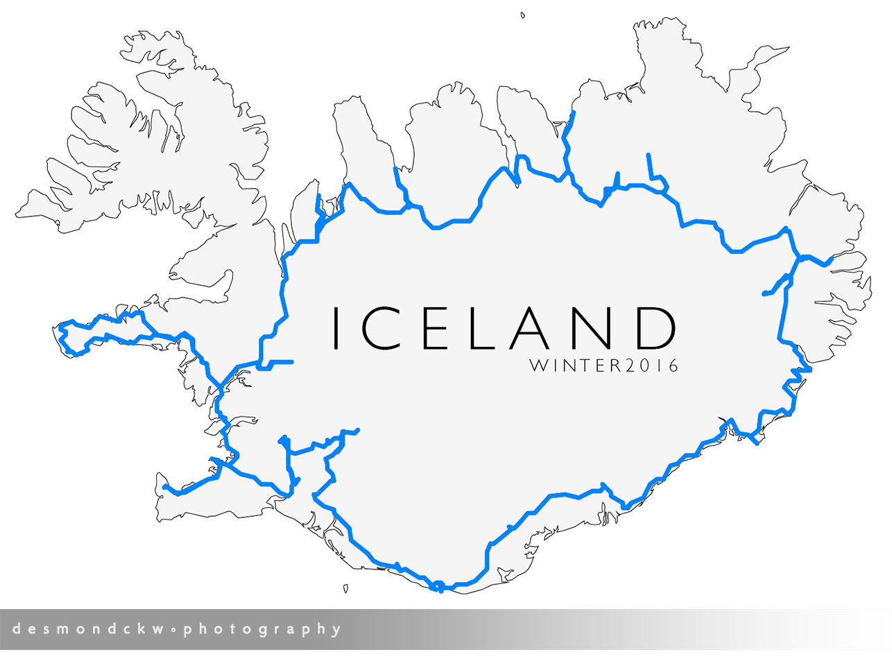 iceland outline
