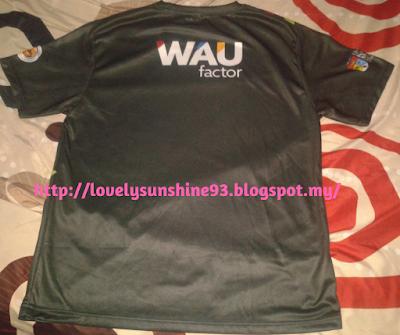 Baju Sukarelawan Bahagian Belakang