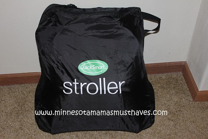 QuickSmart Easy Fold Stroller Review! Smallest Stroller I ...