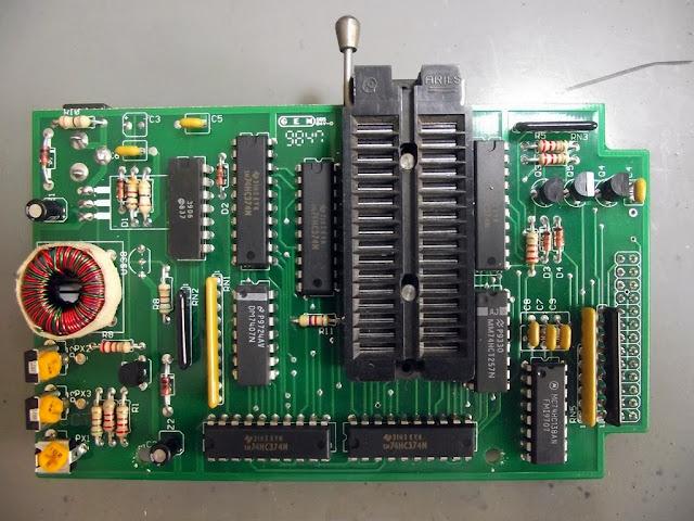 Placa do programador de EPROM