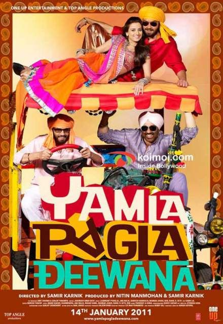 Yamla Pagla Deewana (2011) Hindi 720p BluRay x264 1.2GB