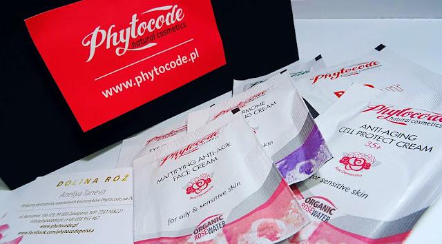 phytocode,różane kosmetyki, pielęgnacja 35+