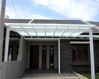 kanopi baja ringan yang unik model minimalis canopi murah