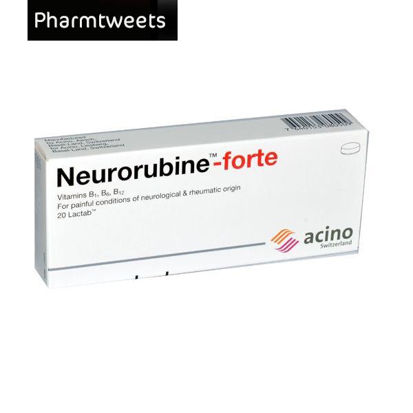 دواء نيوروروبين فورت Neurorubine Fort