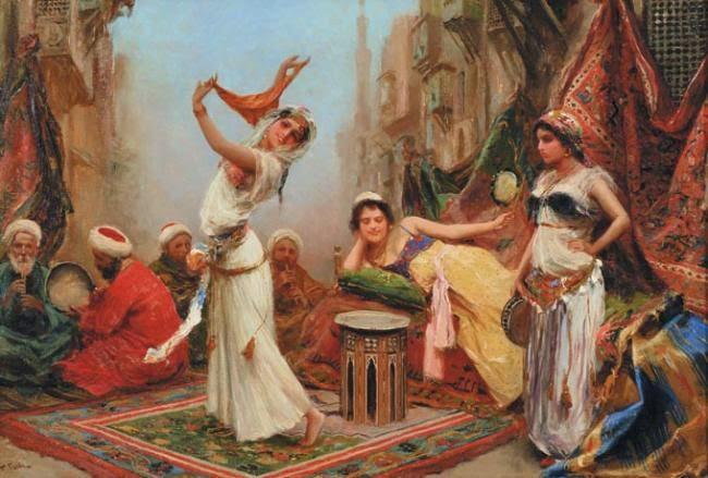 orientalismo  As Cores Da Arte: Fabio Fabbi Orientalismo