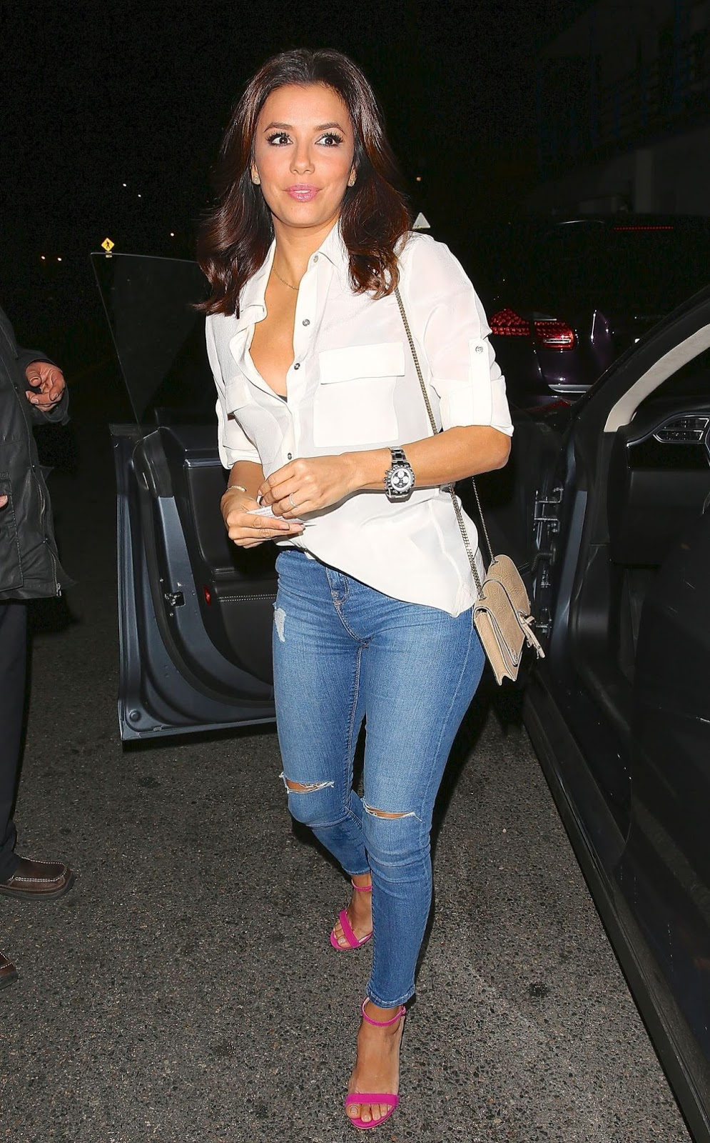 Gossip Over The World Celebrity Fashion Super Cool Celebrities In Trendy Jeans Eva