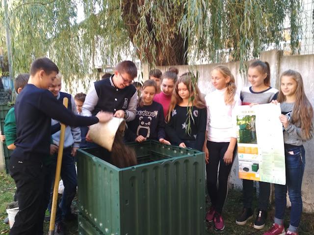 Учні Свеської школи №2 вчаться ефективно берегти довкілля