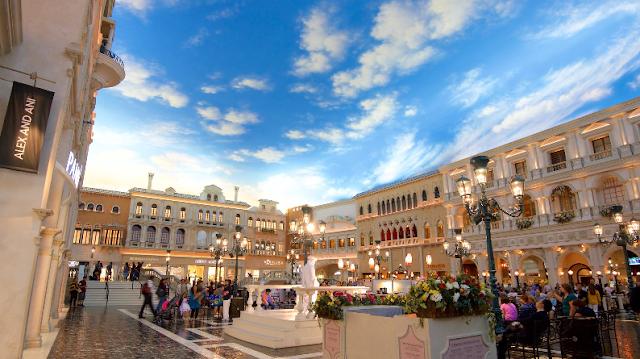 Grand Canal Shoppes no Venetian em Las Vegas