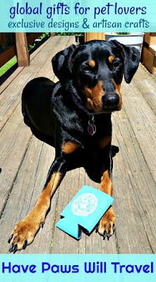 doberman mix rescue dog pet lover artisan crafts accessories PawZaar