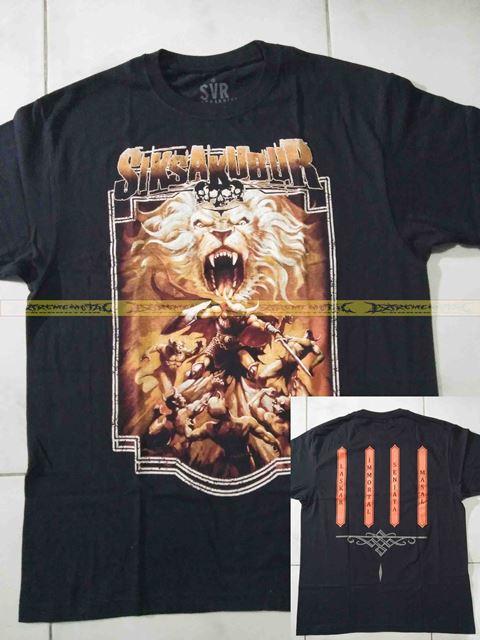 T-Shirt SIKSAKUBUR - Laskar Immortal Senjata Masal