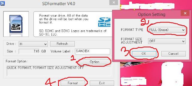 Cara Format Kartu Memori, Pen drive (Tip untuk menghapus virus sepenuhnya) 2