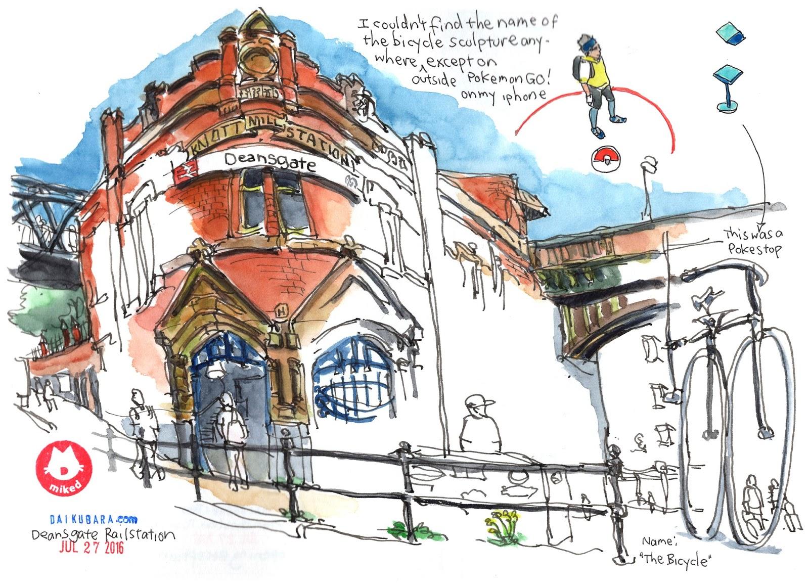 UK Trip Part 2: USk Manchester! | Urban Sketchers