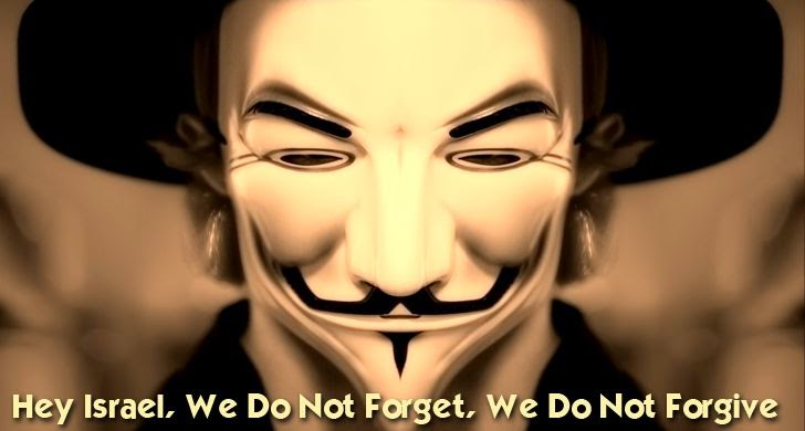 Anonymous Hackers Threaten Israel with 'Cyber-Holocaust' on 7th April