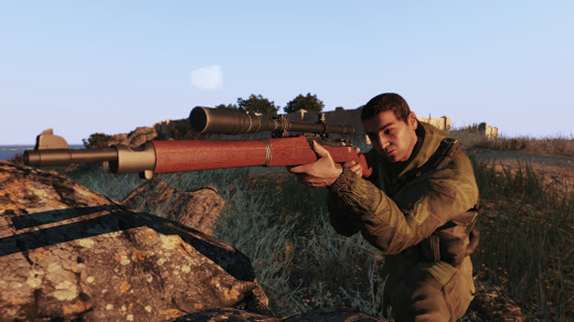 Arma3用NIArms M1903 Springfield Rifles MOD