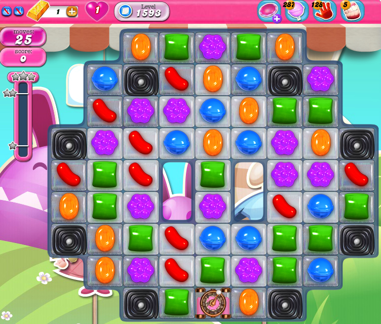 Candy Crush Saga 1593