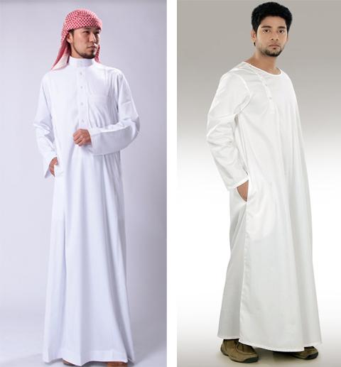model baju jubah laki laki