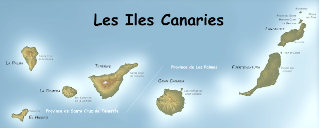 Cartes des Iles Canaries