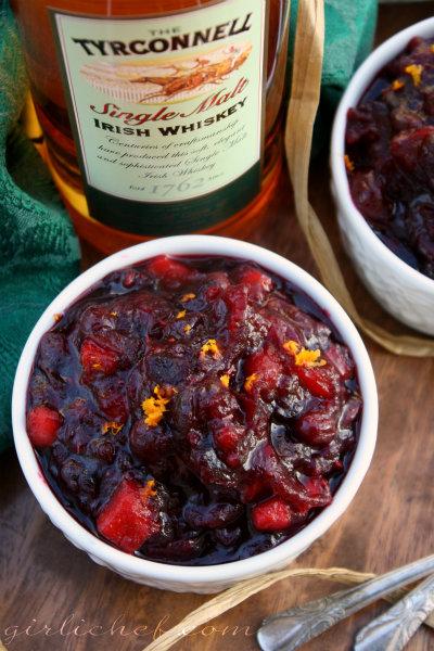 Fruit 'n Whiskey Cranberry Relish
